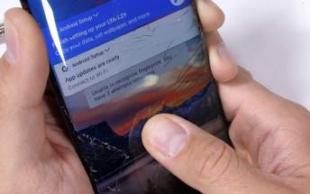 Huawei Mate 20 Pro är inte speciellt hållbar