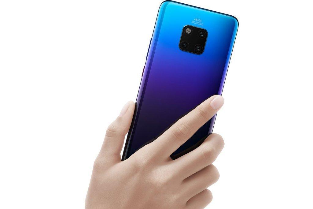 Huawei Mate 20 Pro har riktigt bra enhandsgrepp!