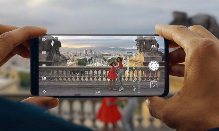 Huawei Mate 20 Pro är en av få telefoner som som har en IR-läsare
