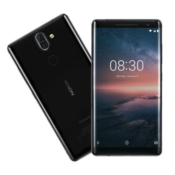 Nokia 8, 8 Sirocco och 6.1 erhåller ny uppdatering