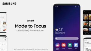 Samsung virrar vidare med gränssnittet One UI…