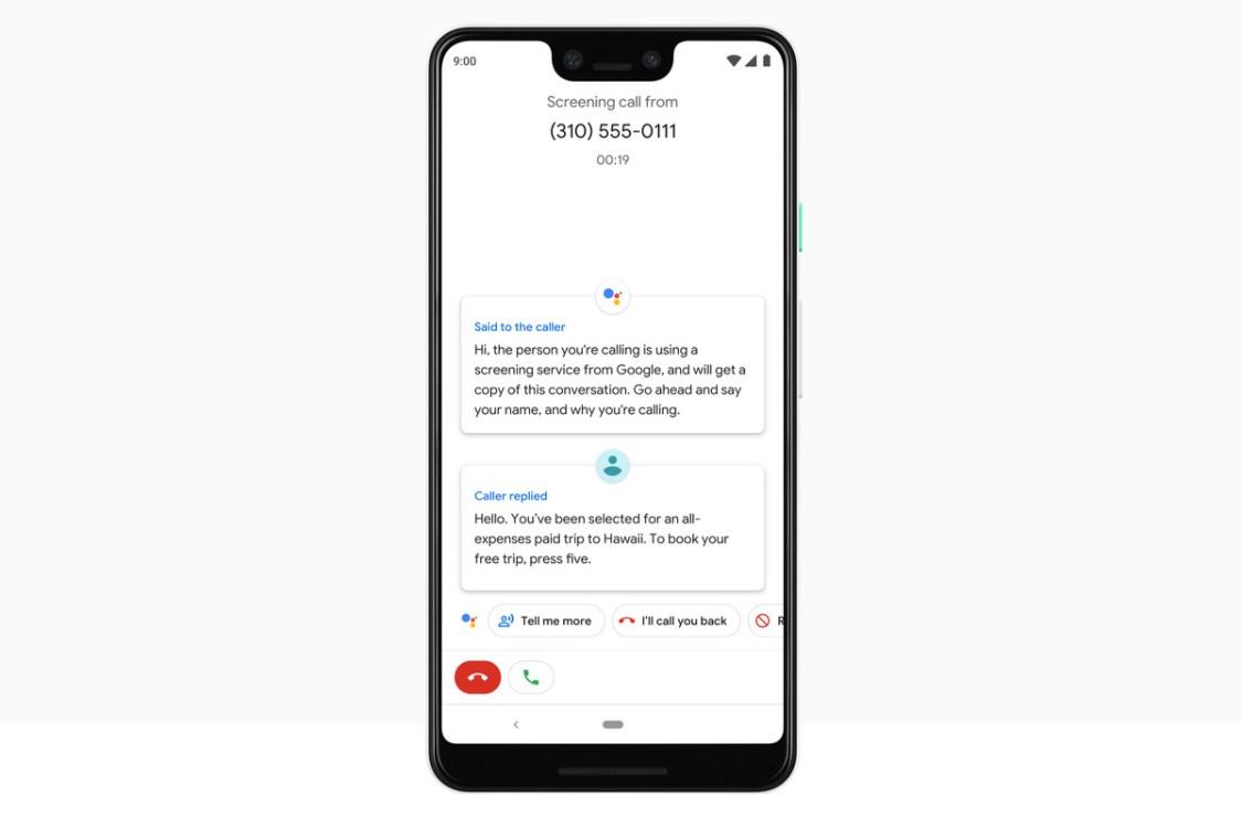 Google Assistent: Call Screening finns nu till Pixel 2 och Pixel 2 XL