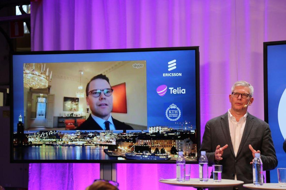 5G nu igång i Sverige