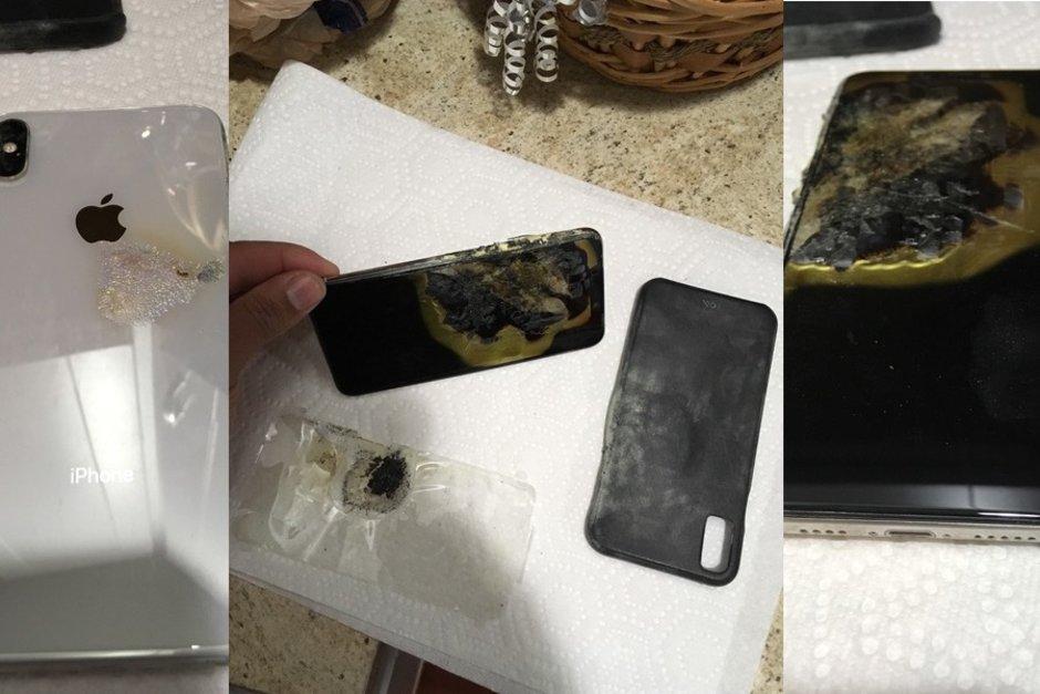 Första rapporten om exploderande  iPhone XS Max