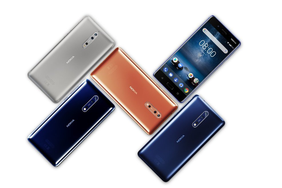 Nokia 8 får beta av Android 9 Pie