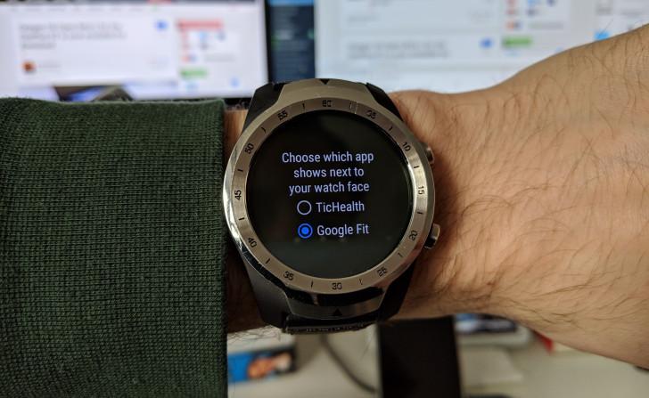 Google Fit får bättre inflytande i TicWatch
