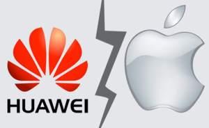 Huaweis anställda använder iPhone