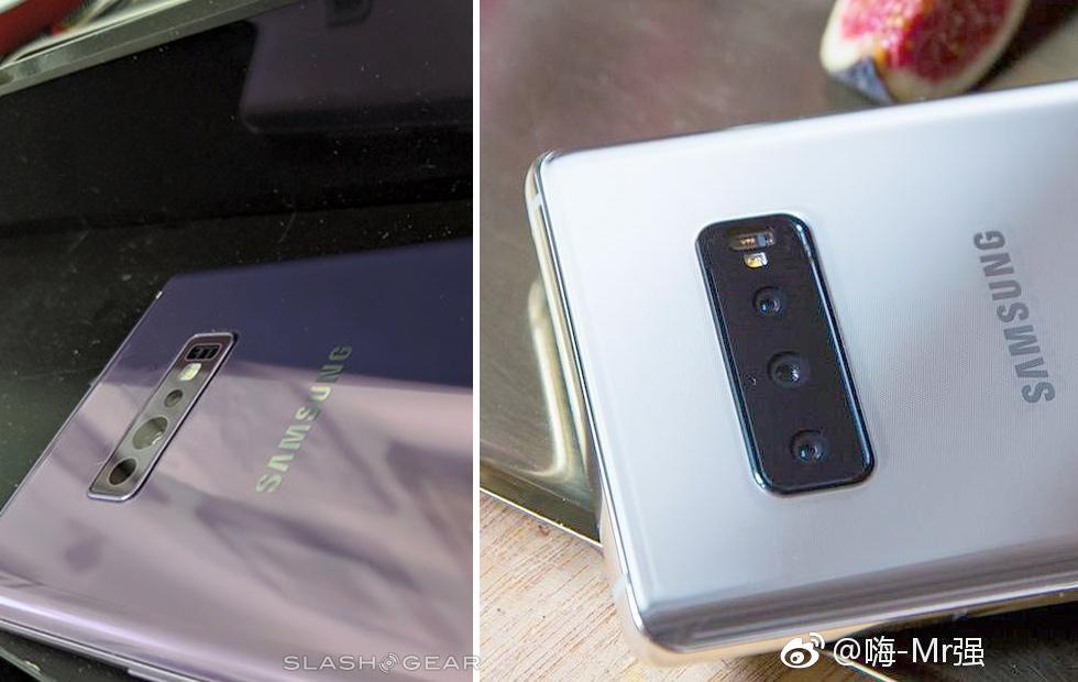 Samsung Galaxy S10 dyker upp i det vilda