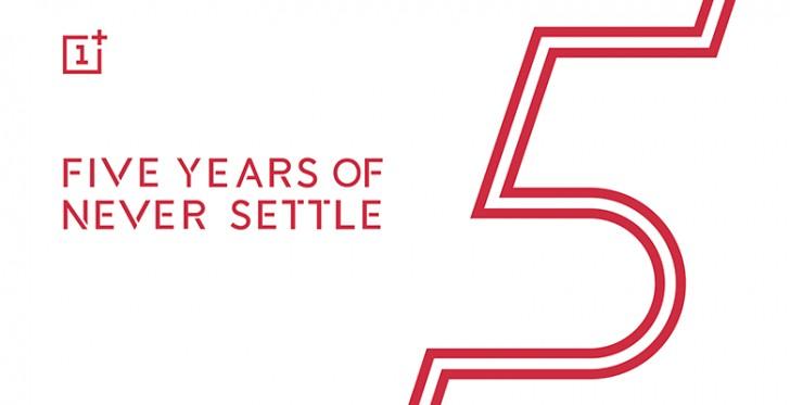 OnePlus firar 5 år på smartphonemarknaden