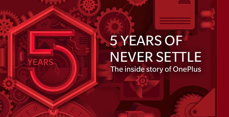 OnePlus fyller fem år!