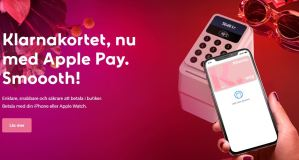 Apple Pay nu till Klarna