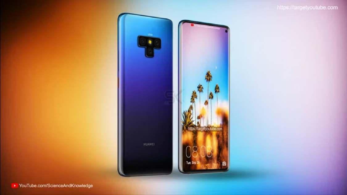 Kan det här vara Huawei Mate 30 Pro?