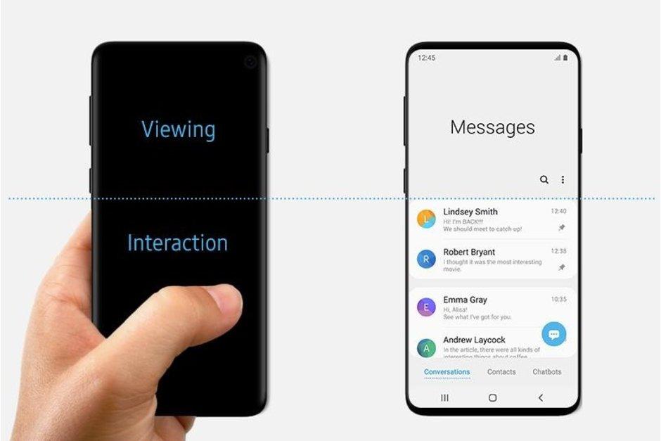 Samsung Galaxy S10 släpps med en andra teaser – visar att enheten kommer drivas av One UI