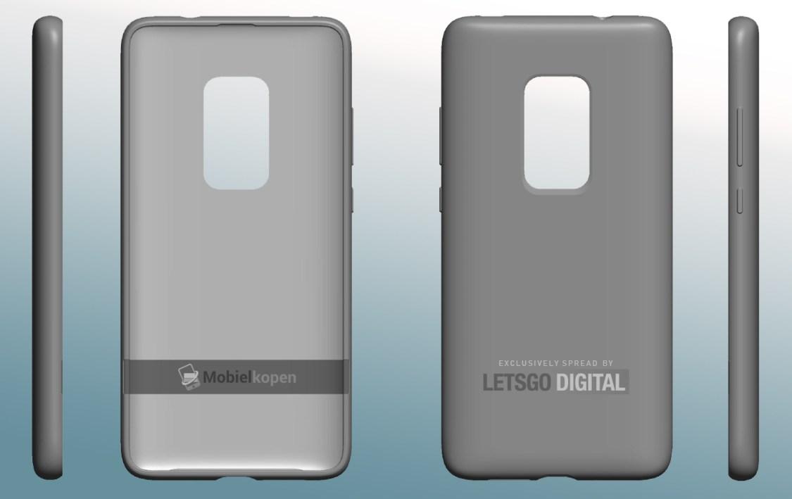 Fodral avslöjar att Huawei Mate 30 Pro kommer få fem kameror på baksidan
