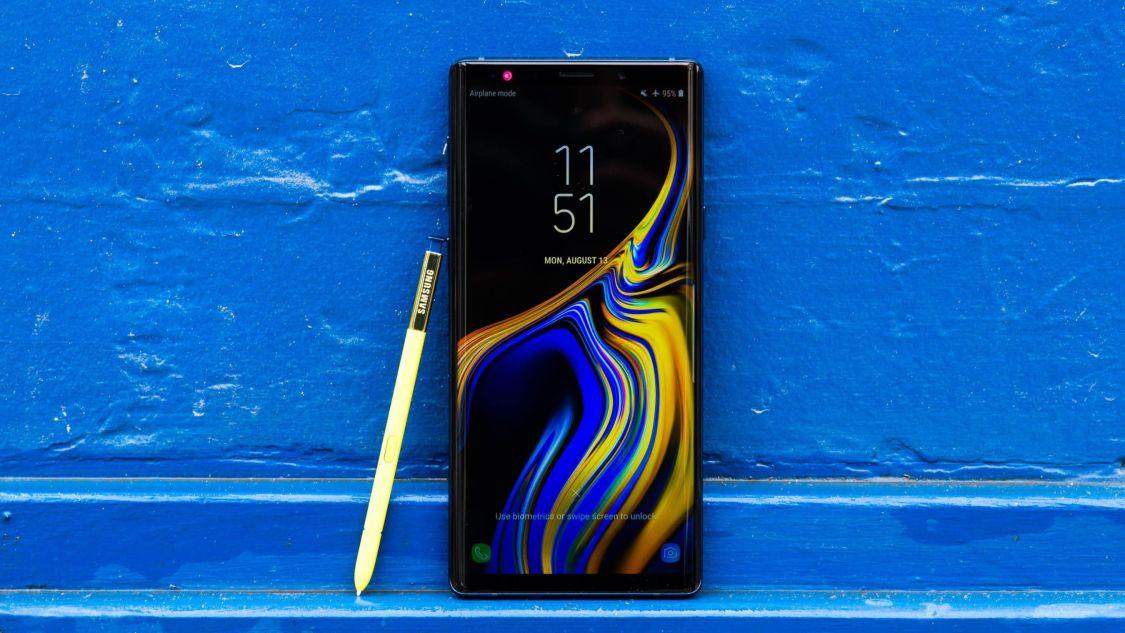 Samsung uppdaterar flera Galaxy Note 9