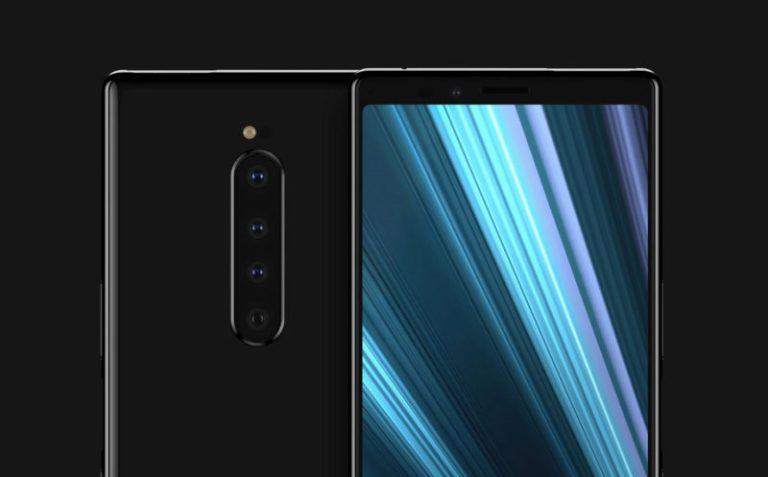 Uppföljaren till Xperia XZ4 kan få fyra kameror på baksidan