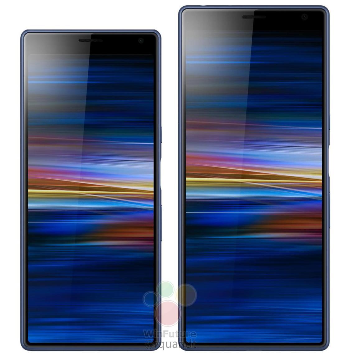 Xperia 10 Plus sägs få en 6,5 tumsskärm