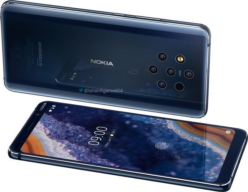 Pressbilder läcker ut på Nokia 9 PureView