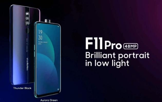 OPPO F11 Pro åker fast i benchmark