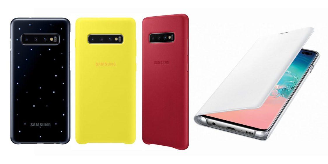 Tillbehören till Samsung Galaxy S10 läcker ut