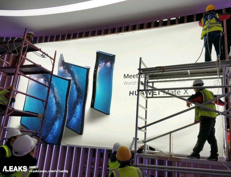 Huawei Mate X läcker