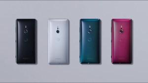 Dessa färger kommer Xperia XZ4 troligtvis bli tillgänglig i