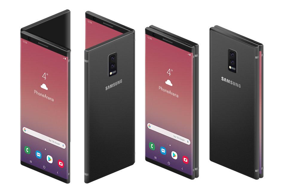 Samsung Galaxy F1: bild dyker upp i det vilda