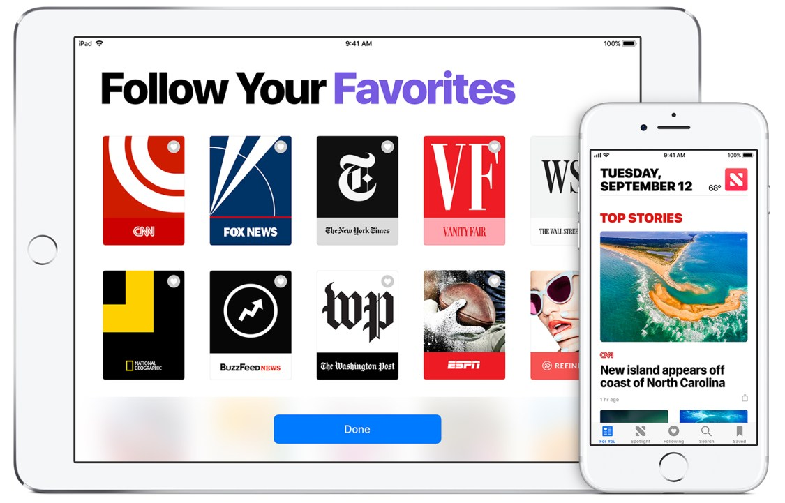 Apple presenterar Apple News