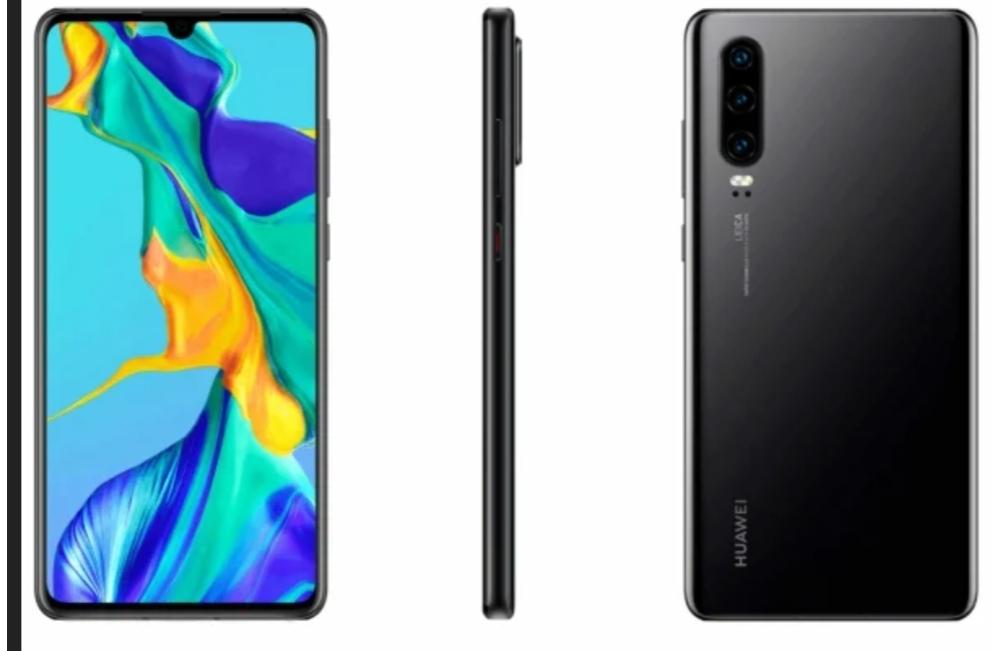 Huawei P30 läcker ut