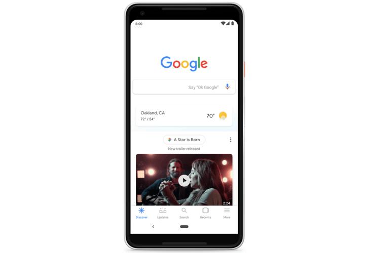 Google Discover får stöd för flera språk