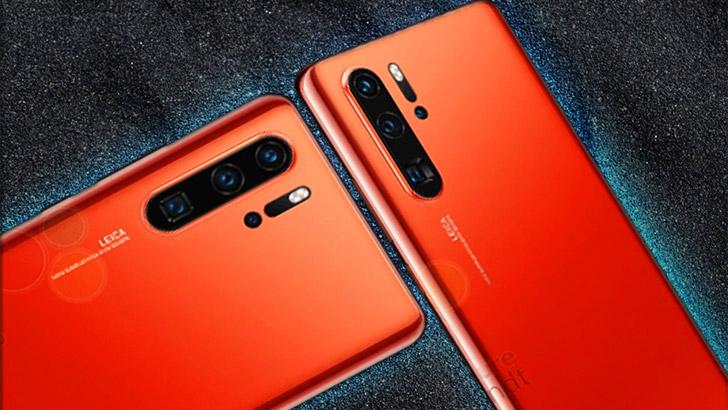 Huawei P30 Pro skulle ha kommit i rött till Sverige