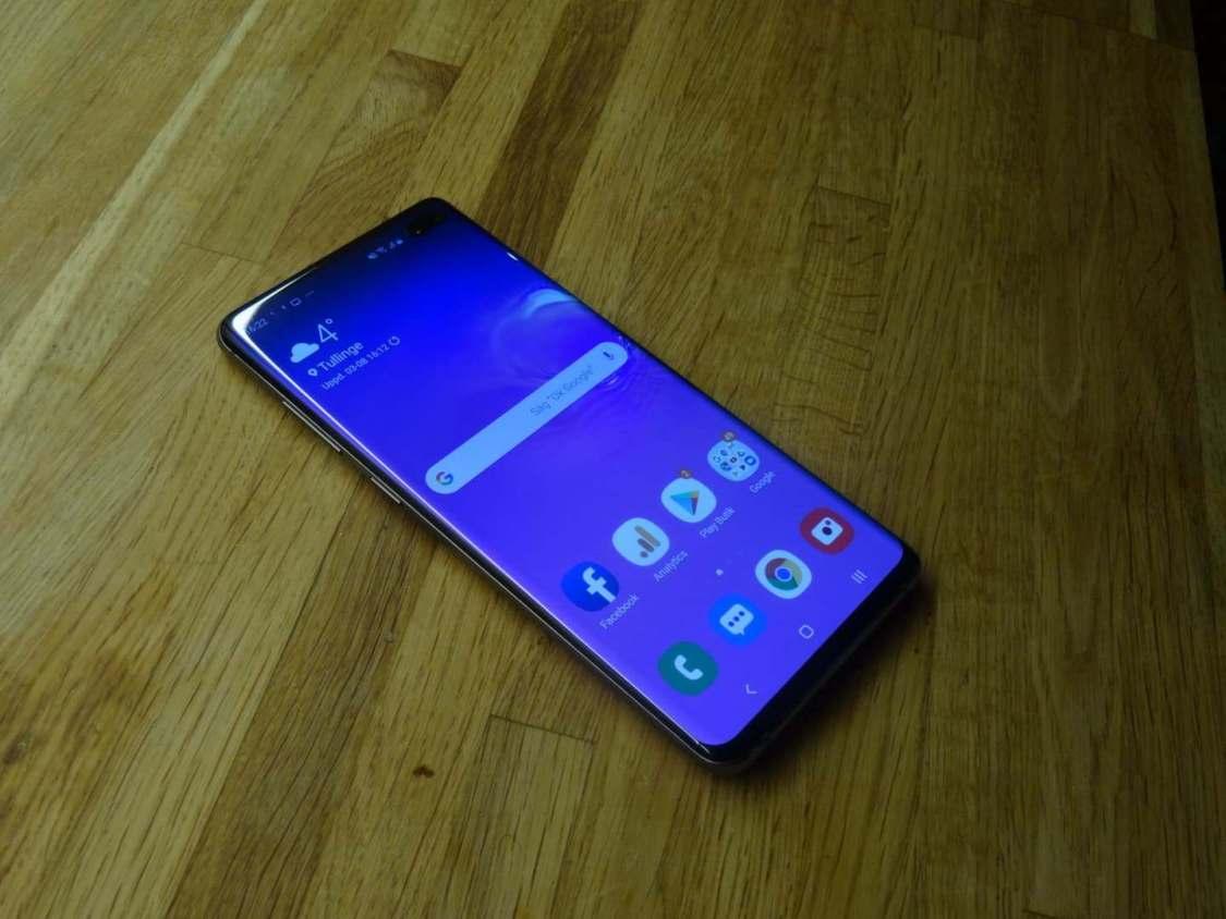 Matthew Moniz tar en ny titt på Samsung Galaxy S10+