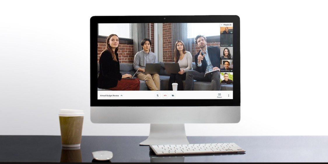 Google Hangouts Meet får ny design