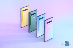 Samsung Galaxy Note 10 kan komma att sakna en synlig telefonhögtalare