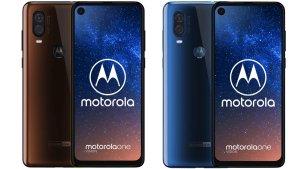 Ny pressbild på Motorola One Vision dyker upp