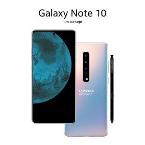 Nytt koncept på Samsung Galaxy Note 10 dyker upp