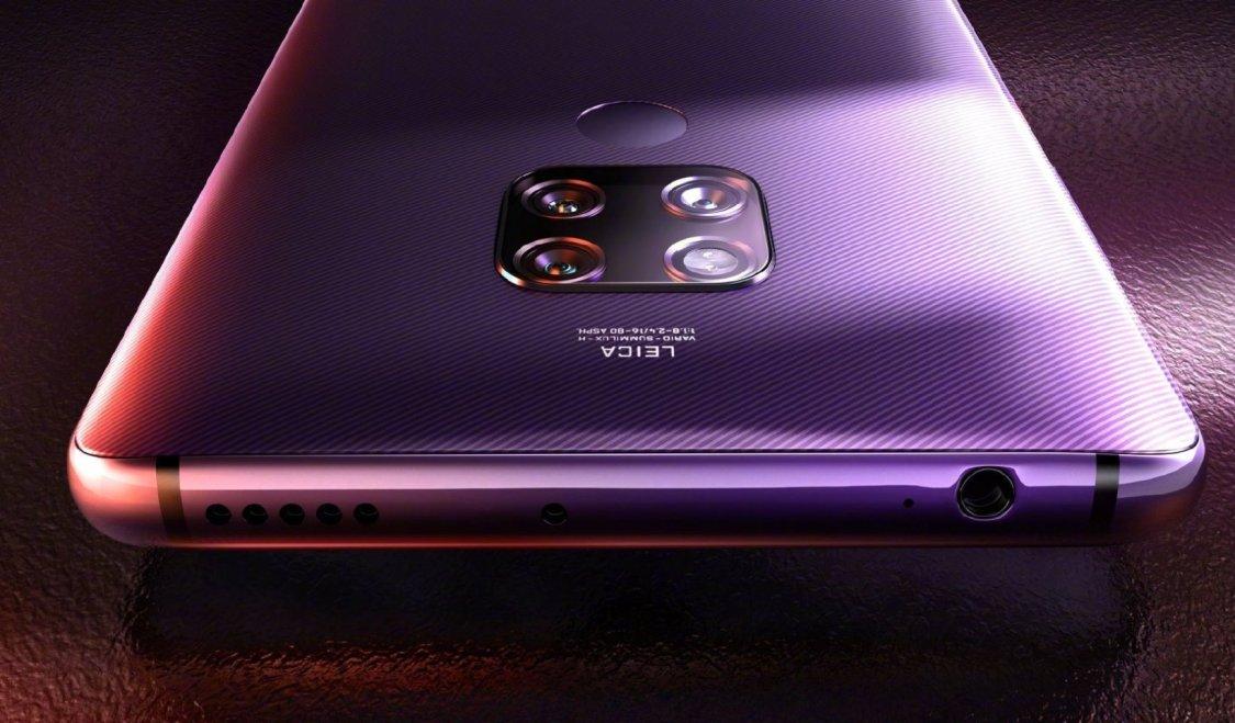 Huawei Mate 30: kommer den få ett uttag för hörlurar?
