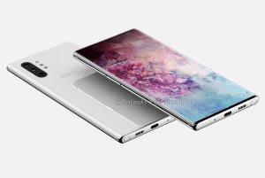 Renderingarna på Samsung Galaxy Note 10 stämmer inte