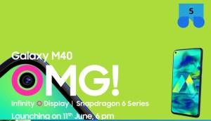 Nu bild på Samsung Galaxy M40 publicerad