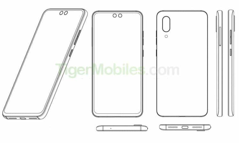 ZTE kan släppa smartphone med dubbla hål i displayen