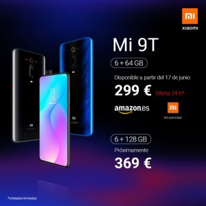 Xiaomi visar upp Mi 9T i Europa