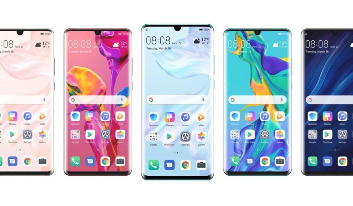 Huawei P30 får ny uppdatering