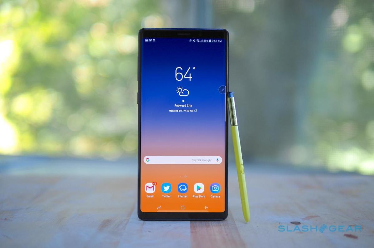 Samsung Galaxy Note 9 får ny uppdatering