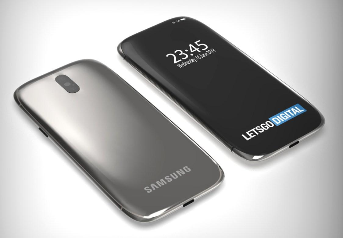 Samsung tar patent på Galaxy med kameran gömd under displayen