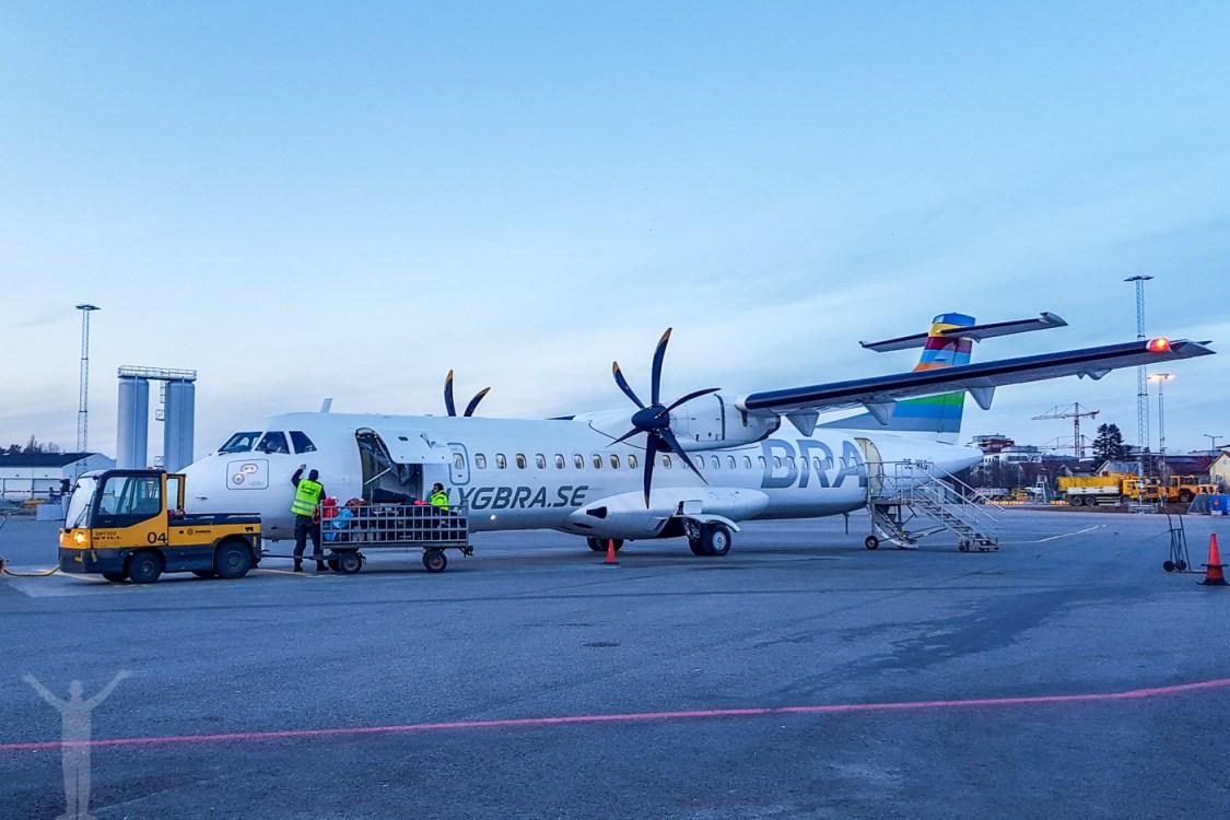 Flygbolaget BRA siktar enbart på ATR 72-600