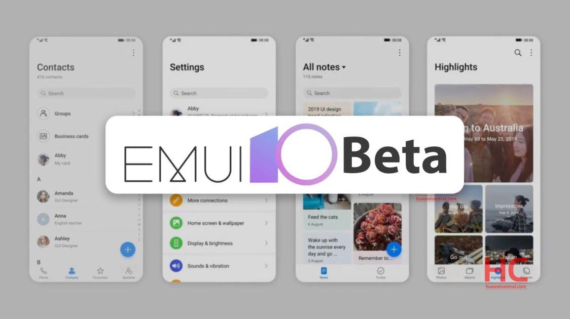 Huawei skickar ut EMUI 10 till flera enheter i Kina
