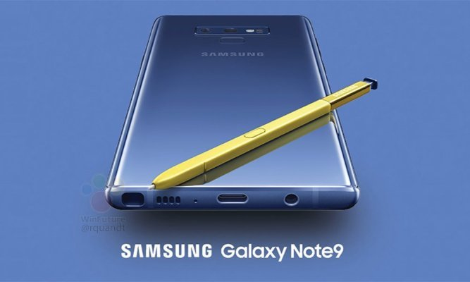 Samsung Galaxy Note 9 får Android 10