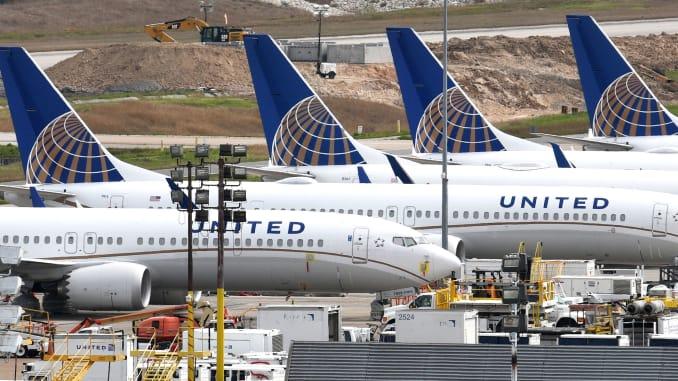 United Airlines skjuter upp Boeing 737 Max till september