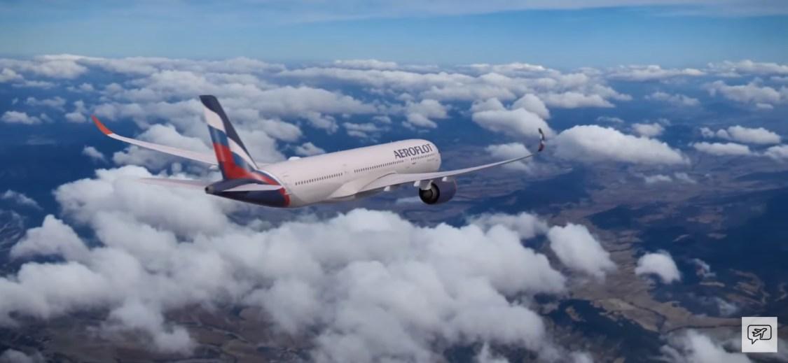 Sam Chui kollar in Aeroflots första Airbus A350-900XWB
