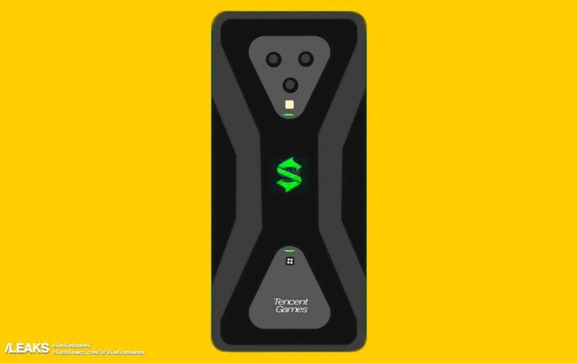 Ny bild kan visa hur Xiaomis Black Shark 3 kan komma att se ut